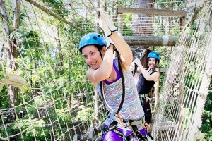 Treetop Challenge Photo From Currumbin Wildlife Sanctuary